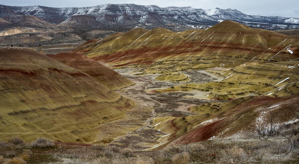 Winter at Oregon's Painted Hills: A Hidden Gem